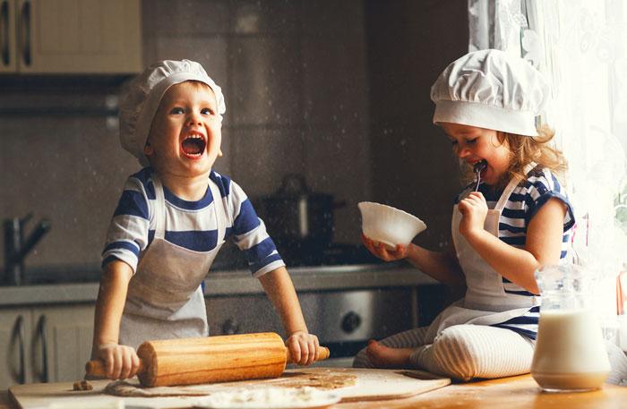Cucinare con i bambini - ricette