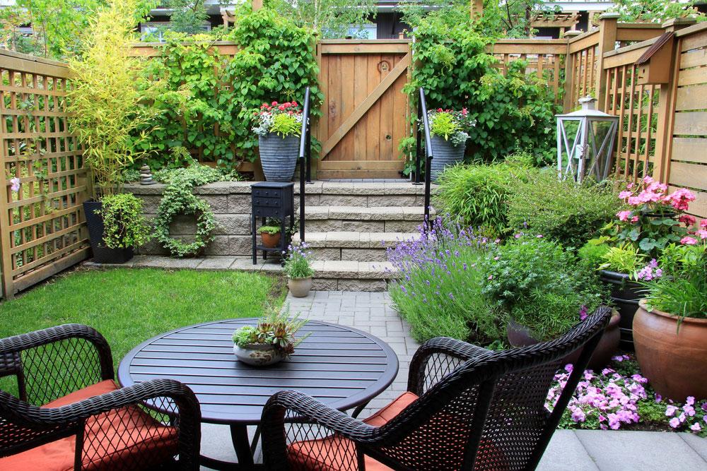 Come decorare il giardino