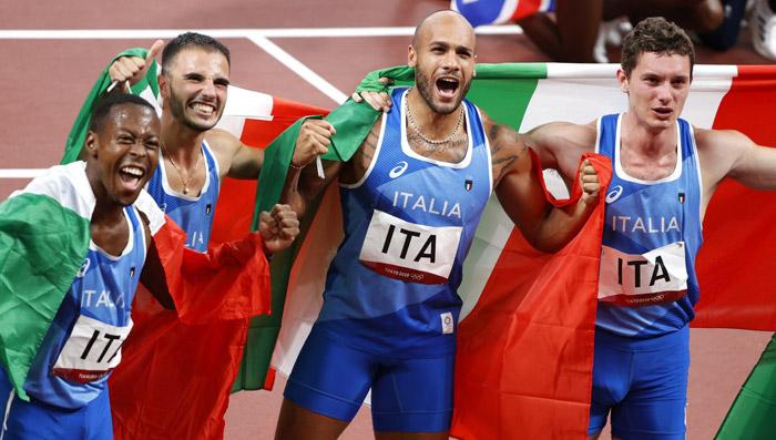 Staffetta oro Italia 2021 - Tokyo 2020