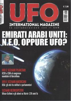 Scheda rivista UFO INTERNATIONAL