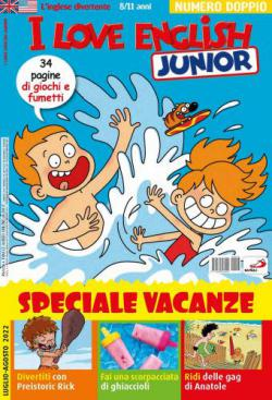 Scheda rivista I LOVE ENGLISH JUNIOR