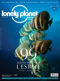 Scheda rivista LONELY PLANET MAGAZINE ITALIA