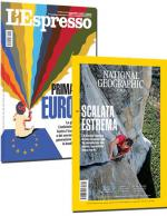 Abbonamento rivista L'ESPRESSO + NATIONAL GEOGRAPHIC IN ITALIANO
